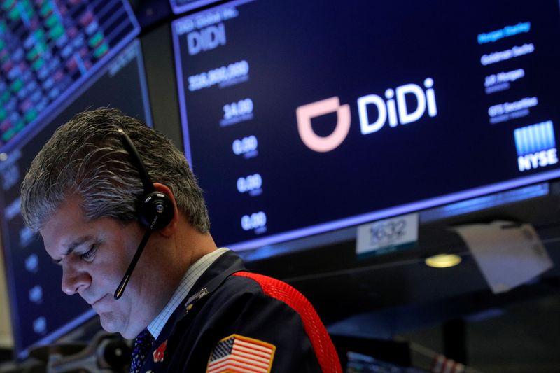Didi cai pelo 3º dia seguido em bolsa dos EUA após ação de governo chinês