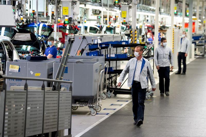 Produção industrial alemã cai 0,3% em maio