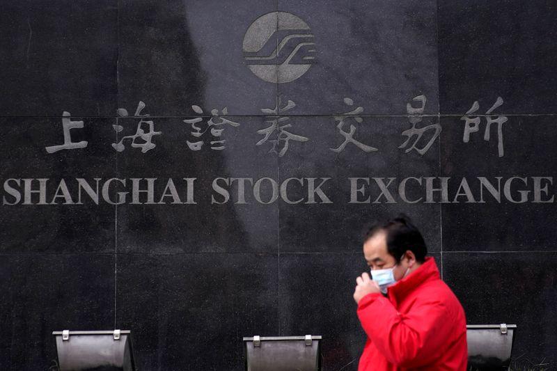 Ações da China recuam após dados de inflação