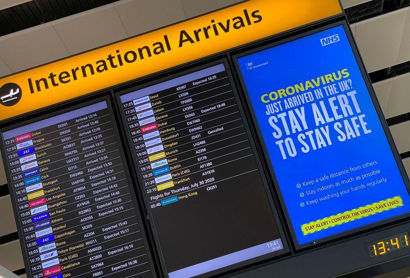 Governadores do NE pedem suspensão de voos de Reino Unido e outros países para conter coronavírus