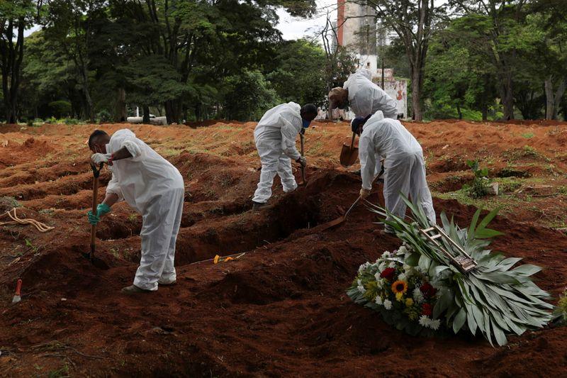 Brasil registra 1.194 novas mortes por Covid-19, maior número diário em 4 meses