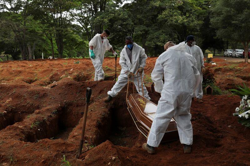 Brasil registra 1.074 novas mortes por Covid-19