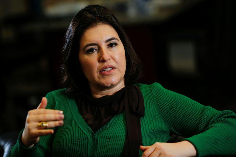 Após avanço de Rodrigo Pacheco, MDB lança Simone Tebet na disputa à presidência do Senado