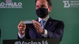Doria espera em 48 horas resposta da China sobre liberação de insumos para CoronaVac