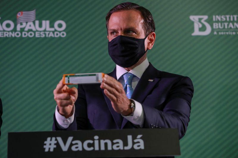 Em evento liderado por Doria,ex-presidentes defendem vacinação contra Covid-19
