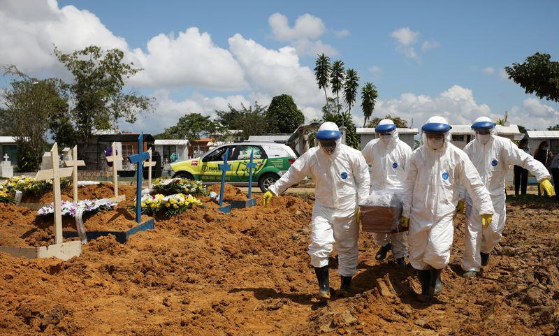 Brasil registra 559 novas mortes por Covid-19, diz Ministério da Saúde