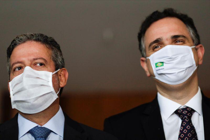 Pacheco e Lira falam em papel institucional de cada Poder após visita a presidente do STF