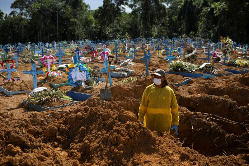 Com Covid em disparada, setor funerário estima 3 vezes mais mortes diárias que antes da pandemia