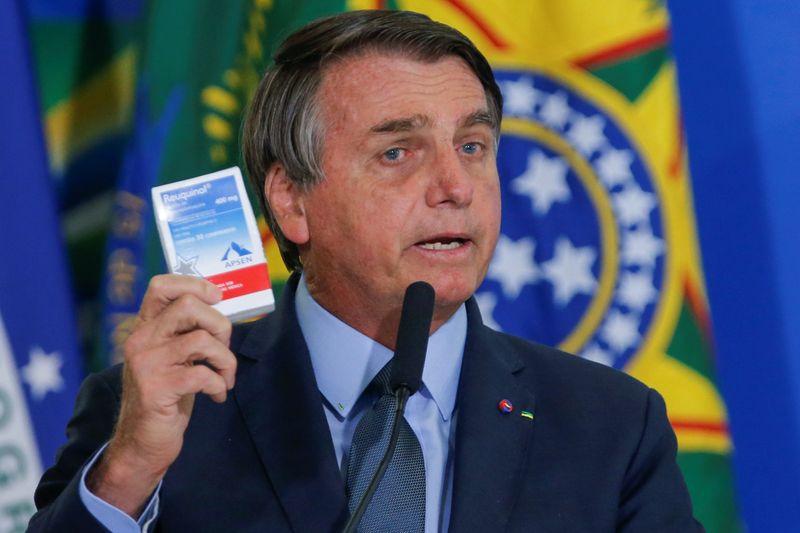 Bolsonaro indica que tomará novamente cloroquina se for reinfectado por Covid