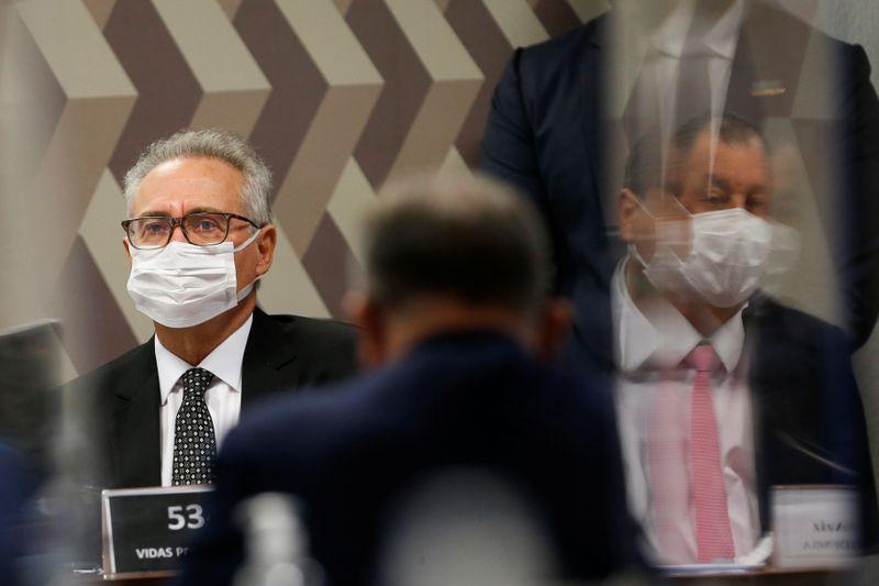 Renan defende convocação de Braga Netto à CPI para explicar nota contra Aziz