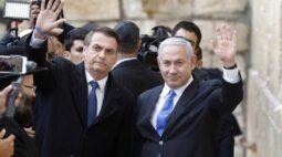 "Bolsonaro congratula novo premiê israelense e agradece a ""grande amigo"" Netanyahu"