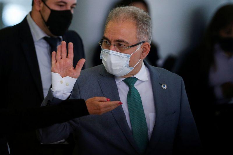 Não estou preocupado com o que acontece na CPI, diz Queiroga