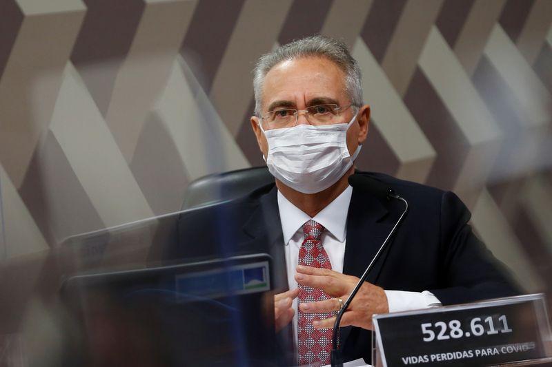 Vamos cobrar punição de responsáveis, sejam civis ou militares, diz Renan sobre CPI