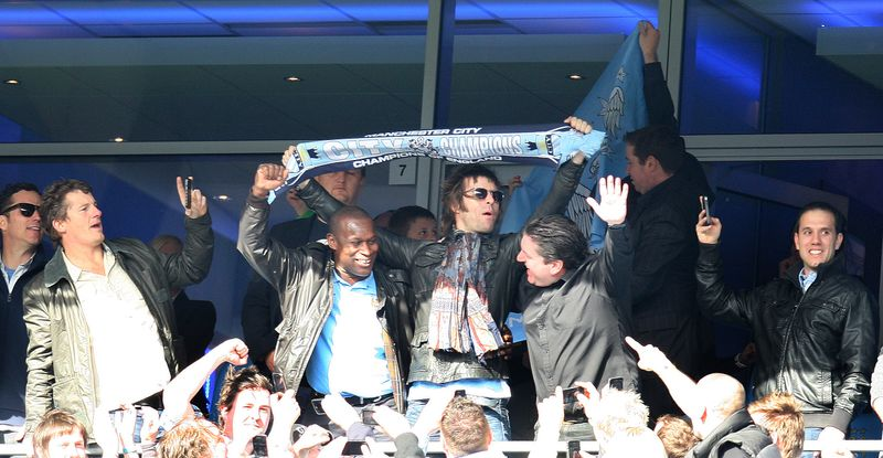 Liam Gallagher promete show na Argentina se Messi for para o Manchester City