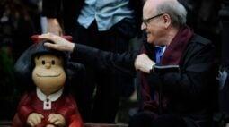 Cartunista argentino e criador da Mafalda, Quino morre aos 88 anos