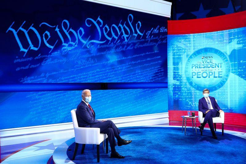 Biden supera Trump em audiência de fóruns exibidos na televisão