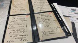 Anotações de discursos de Hitler vão a leilão em Munique