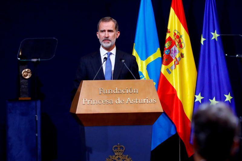 Rei Felipe da Espanha está em quarentena após contato próximo com contaminado por coronavírus