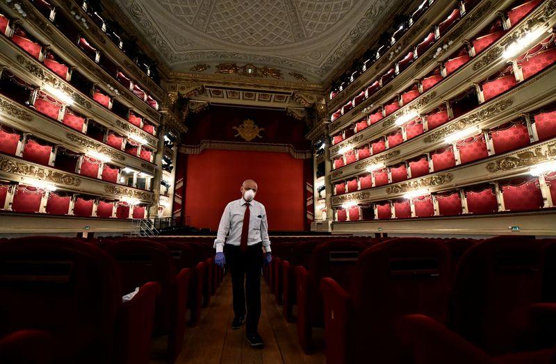 La Scala de Milão opta por transmissão após cancelamento de abertura da temporada