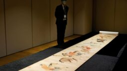 Pergaminho chinês raro de 700 anos vai a leilão em Hong Kong