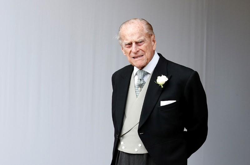 Príncipe Philip, marido da rainha Elizabeth, é hospitalizado