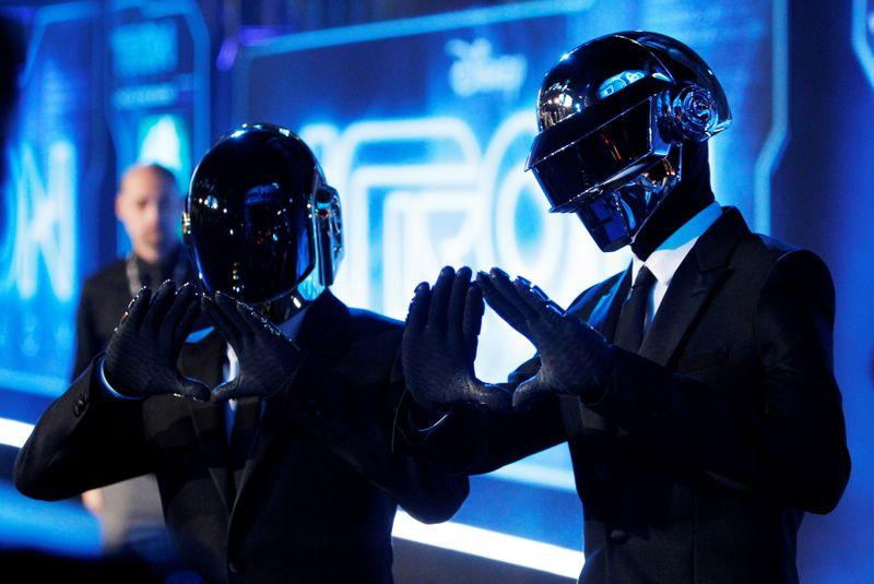 Duo francês de música eletrônica Daft Punk anuncia rompimento