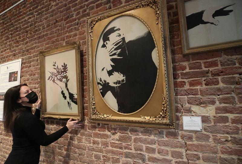 Bruxelas tem exibição que cobre 15 anos de produção de Banksy