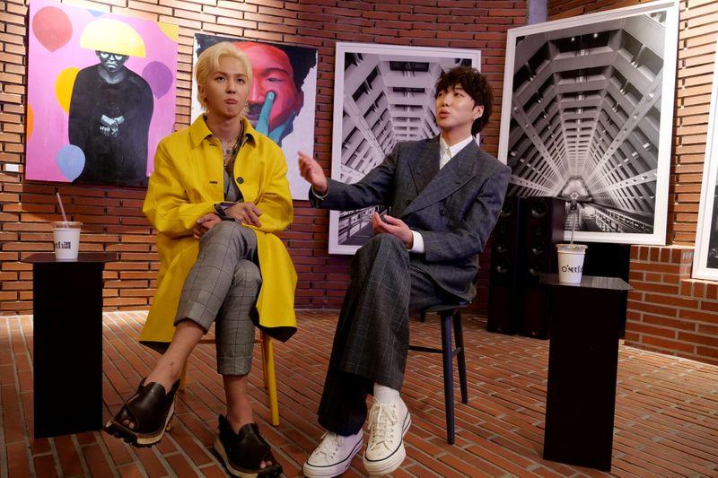 Do palco à tela: astros de K-pop preparam exposição de arte em Londres