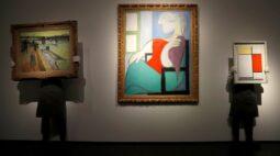 Pintura a óleo de Picasso é vendida por US$103 milhões em leilão