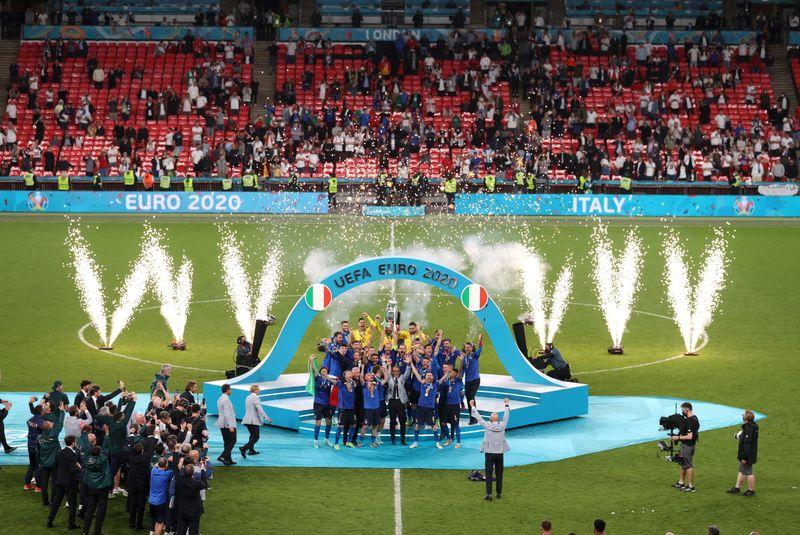 Mais de 30 milhões de britânicos viram Inglaterra perder final da Euro nos pênaltis