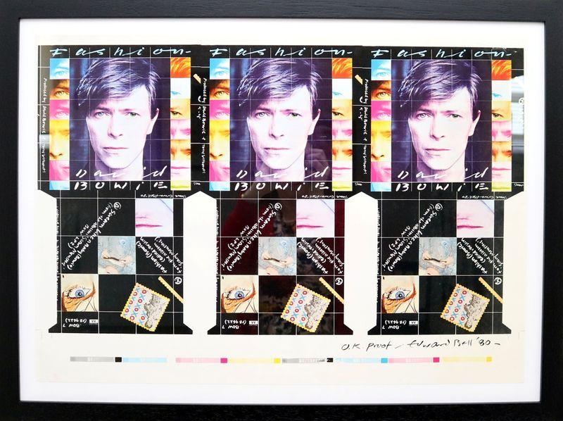 Arte de discos e fotos de David Bowie vão a leilão