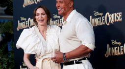 """Inspirado em brinquedo da Disney, """"Jungle Cruise"""" junta heroína espirituosa com capitão piadista"""
