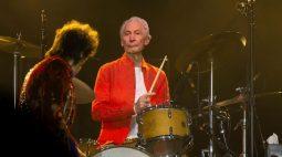 Charlie Watts desiste da próxima turnê dos Rolling Stones nos EUA