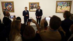 Macron inaugura exibição de coleção de arte dos Morozov em Paris