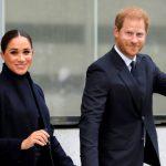 Príncipe Harry e Meghan Markle visitam World Trade Center em Nova York