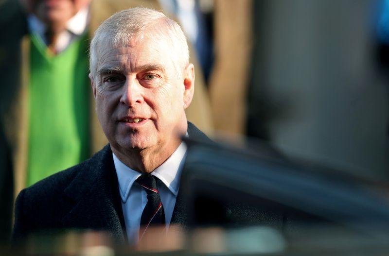Príncipe Andrew é notificado de processo nos EUA por agressão sexual