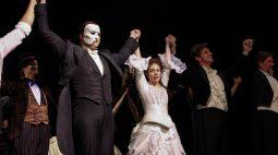 """""""O Fantasma da Ópera"""" volta com cautela a palco da Broadway"""