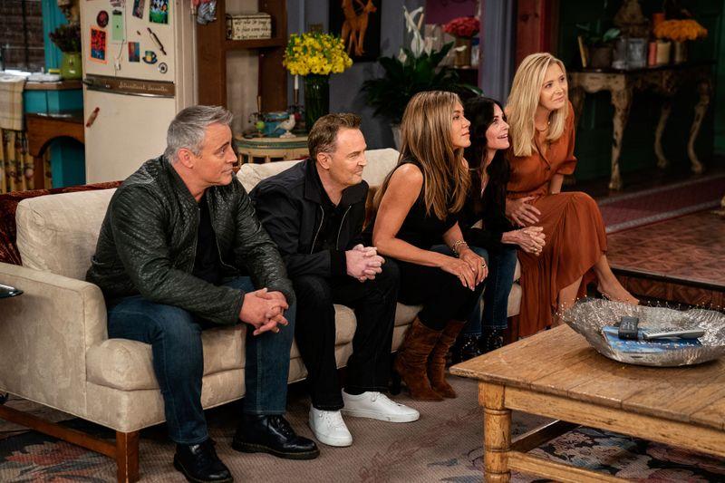 """Episódio especial de """"Friends"""" traz revelação sobre Schwimmer e Aniston"""