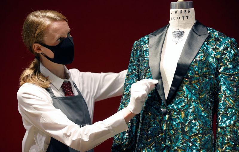 Jaquetas de Mick Jagger irão à venda em leilão da estilista L'Wren Scott
