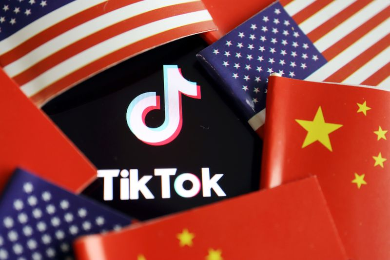 Ações de interessadas em compra do TikTok recuam em meio a temores de bloqueio da China
