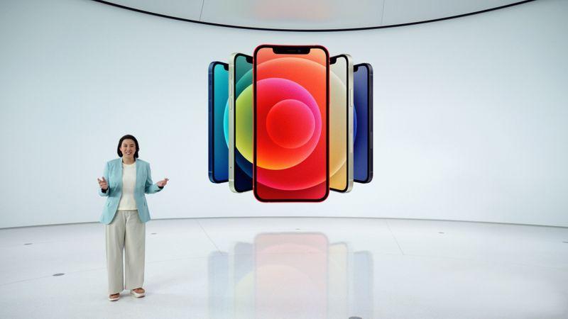 Apple lança iPhone 5G e alto-falante inteligente