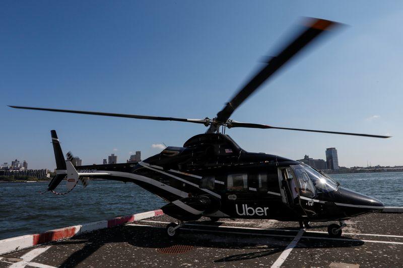 Uber busca opções para Uber Elevate e avalia venda parcial, diz site