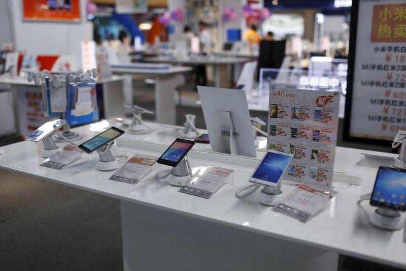 Envios de smartphones na China despencam 27% em outubro