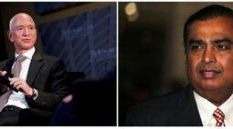 Batalha dos bilionários: Bezos e Ambani disputam liderança do varejo na Índia