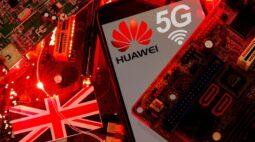 Reino Unido proíbe instalação de kit 5G da Huawei a partir de setembro de 2021