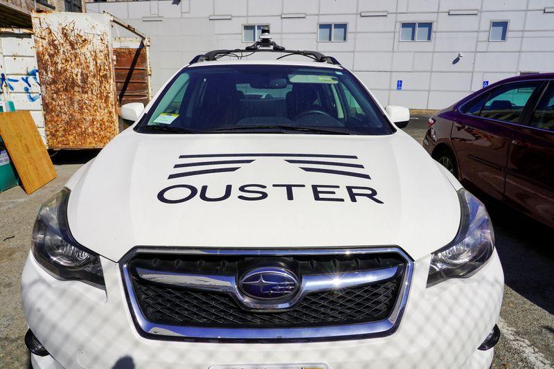 Startup de carros autônomos Ouster prepara-se para abrir capital com avaliação de US$1,9 bi, dizem fontes