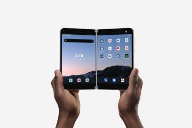 Microsoft lançará smartphone de tela dupla a US$1.399