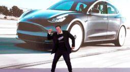 Vendas da Tesla na Califórnia saltam 63% no 4° tri