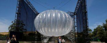 Alphabet encerra unidade que usava balões como alternativa para torres de celulares