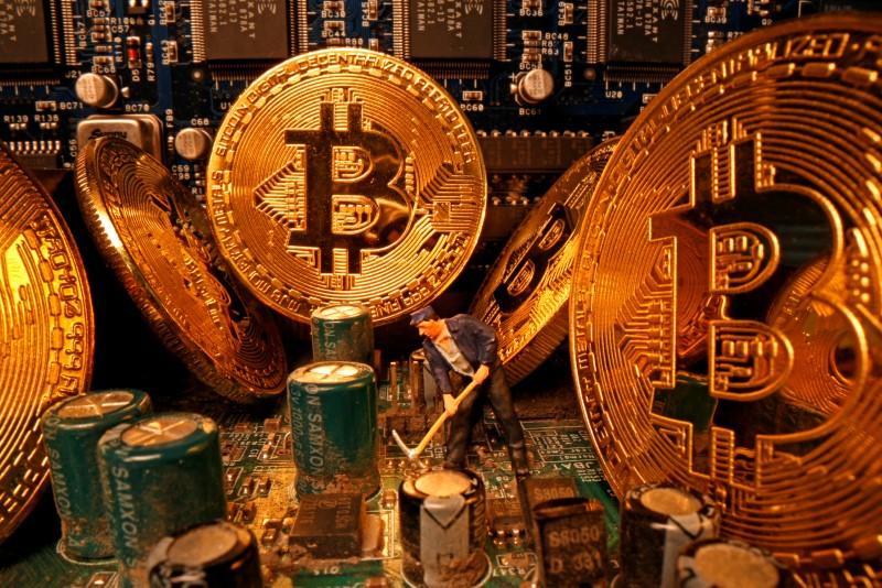 Bitcoin despenca depois de atingir recorde no fim de semana